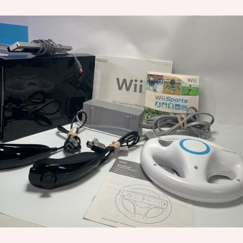 Nintendo Wii Console RVL-001-Bundle Black