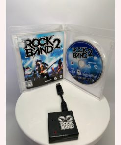 PS3 Rock Band 2 Video Game & Dongle