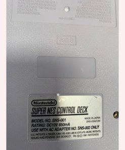 Super Nintendo NES System Video Game Console SNS-001