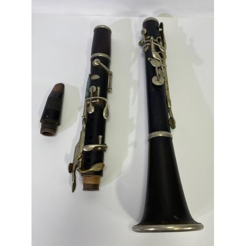 Antique Theodore Berteling New York Wooden Clarinet