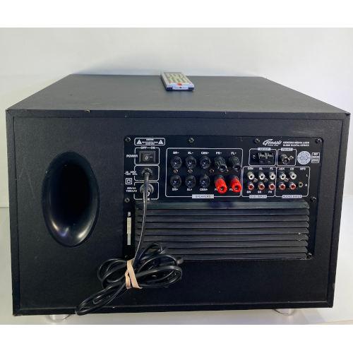 Genesis Media Labs G-505 Ultra Digital 5.1 AV Surround sound receiver subwoofer