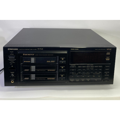 Pioneer PD-TM1 18 Disc Multi Play Compact Disc Player