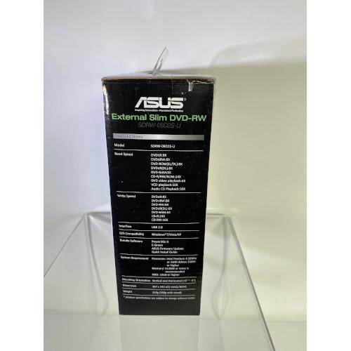 Asus - 24x Write/16x Rewrite/24x Read External CD