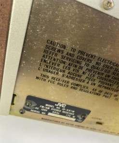 JVC JR-S81 AM FM Stereo Receiver