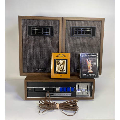Marlin Radio Corporation 8500 8 Track Stereo
