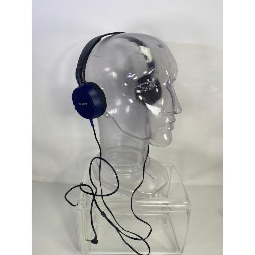 Sony Wired Headphones -Blue