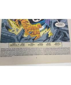 FANTASTIC FOUR COMIC #384 Marvel fantastic three