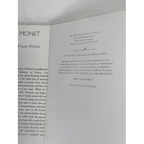 Monet Hardcover by Frank Milner 978-1856486804