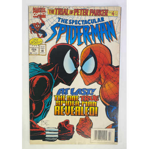 """Spectacular Spider-Man """"At Last The One True Spiderman Revealed"""" 071486021995"""