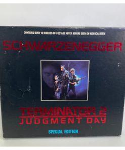 Terminator 2 Judgement Day 1993 Special Edition VHS Box Set Arnold Schwarzenegger