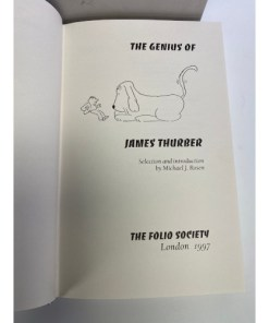 The Genius of James Thurber Hardcover Selection & Introduction Michael J. Rosen