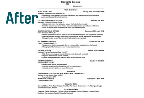 17 Ways to Make Your Resume Fit On One Page  HuffPost