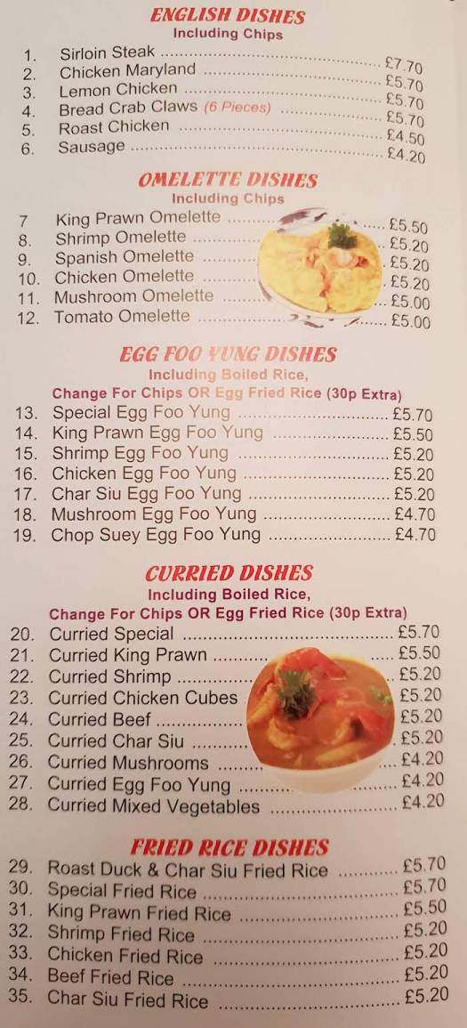 whitby chinese takeaway