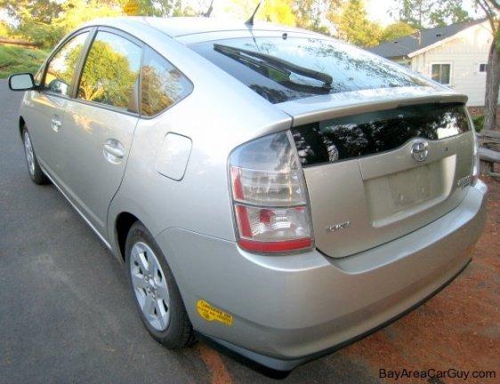 driver's side rear corner exterior car photo