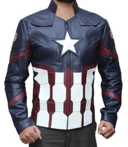 Captain-America Leather Jacket