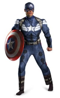 Captain America-costume