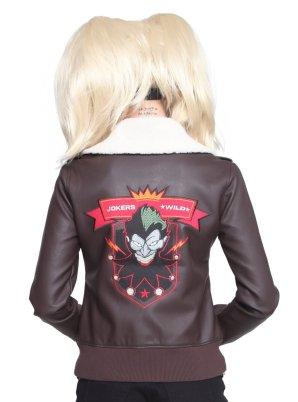 Bombshells Harley Quinn Aviator Jacket: $75