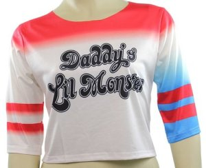 T-shirt Daddy's Lil Monster: $25