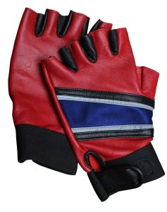 Harley Quinn Costume Gloves: $30