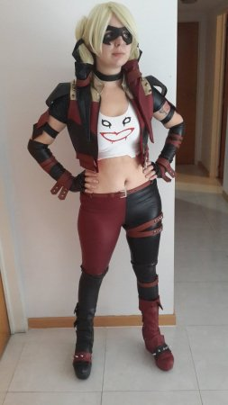 Harley Quinn Injustice: Insurgency Costume