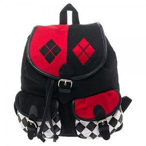 Harley Quinn Knapsack Backpack: $32