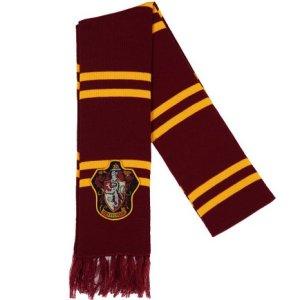 patch knit scarf