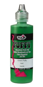Dimensional Fabric Paint Puffy Green