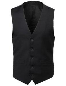 Classic Fit Stylish Contrast Vest