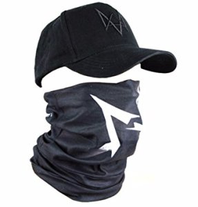 Watch Dogs Face Mask Cap Set