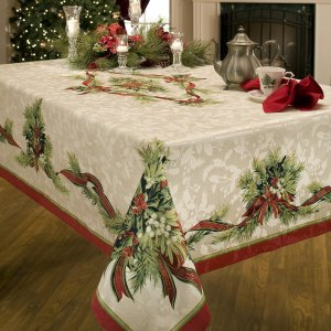 christmas-ribbons-engineered-printed-fabric-tablecloth