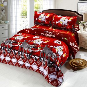 printed-cartoon-merry-christmas-santa-claus-bedding-sets