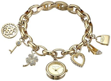 crystal-gold-tone-charm-bracelet-watch