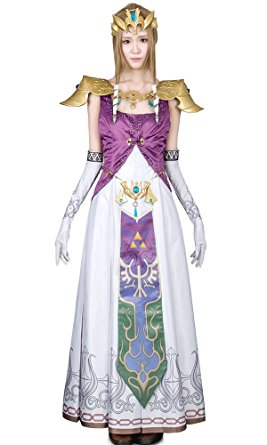 Delightful princess zelda costume find your future many cos players love to cosplay princes zelda costume for halloween are as follows solutioingenieria Gallery