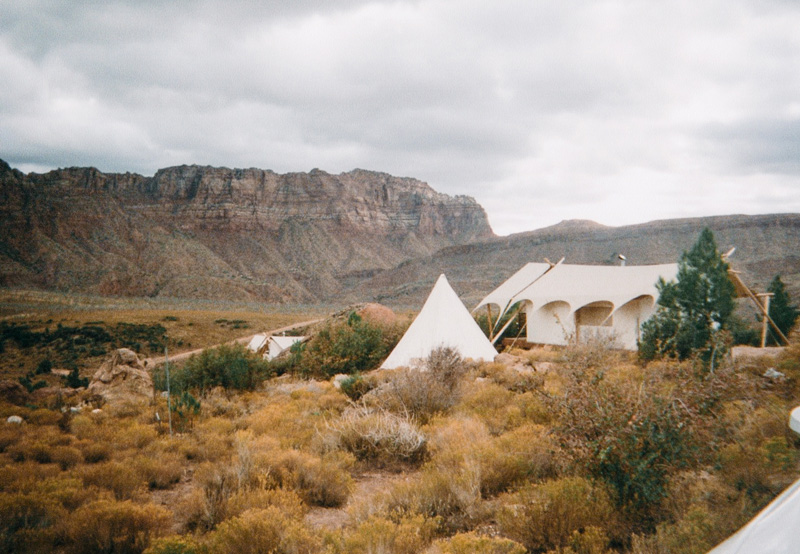 Under Canvas Glamping Teepee Tent Zion National Park