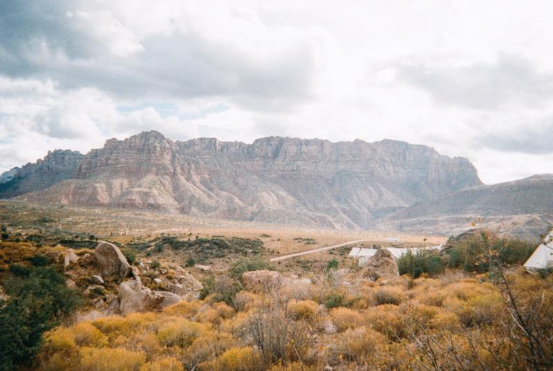 Mountain Landscape Views at Zion National Park