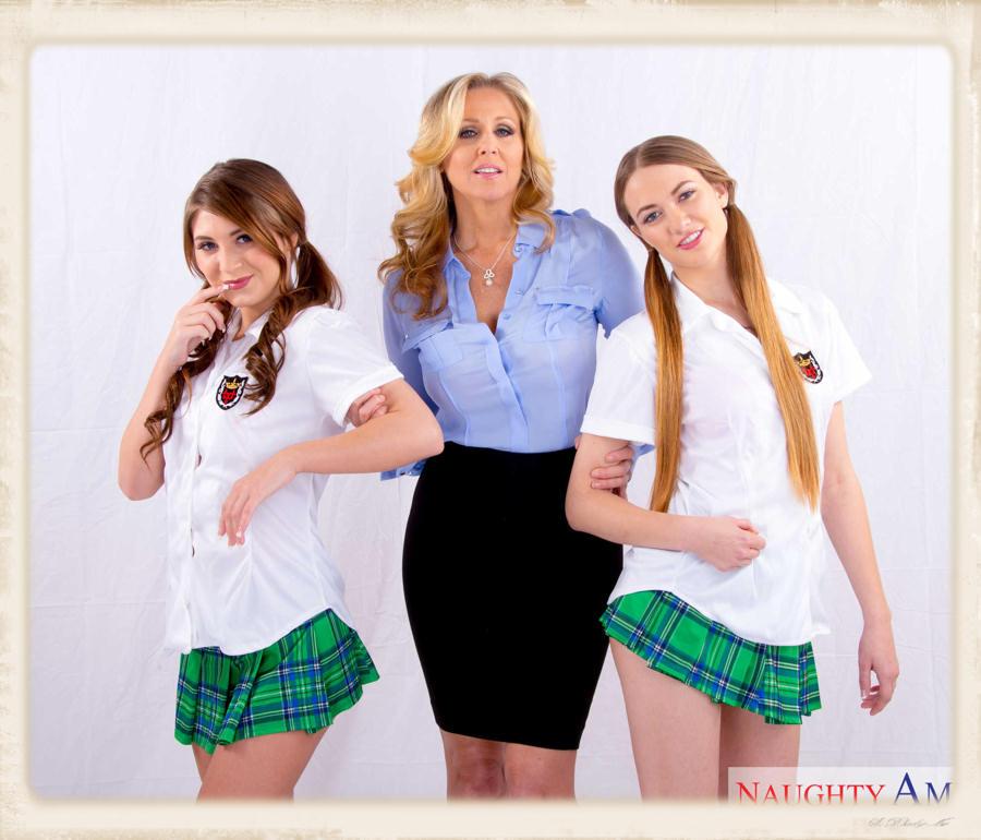 Jojo Kiss, Julia Ann and Samantha Hayes