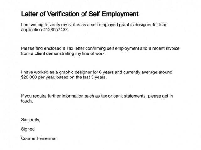 how to write a proof of employment letter