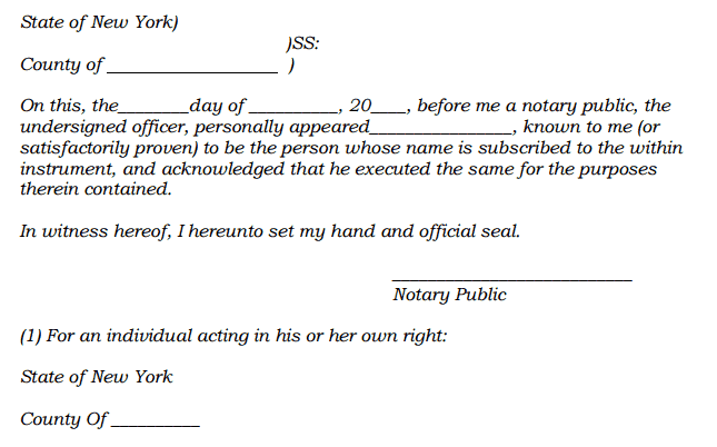 4 Notary Statments Find Word Letters – Notary Template