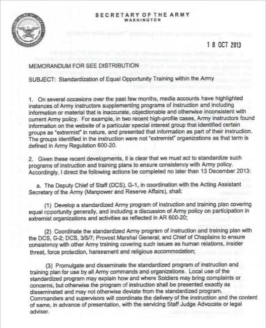 Army Memorandum Template 5.