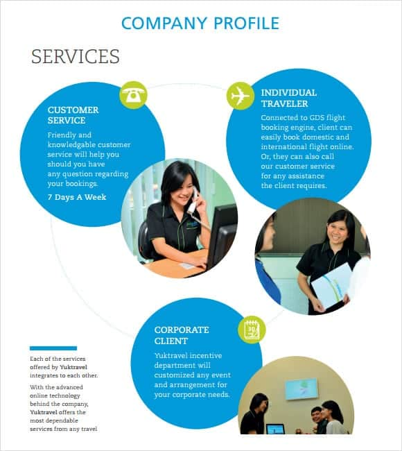 ... Company Profile Sample 3. ...