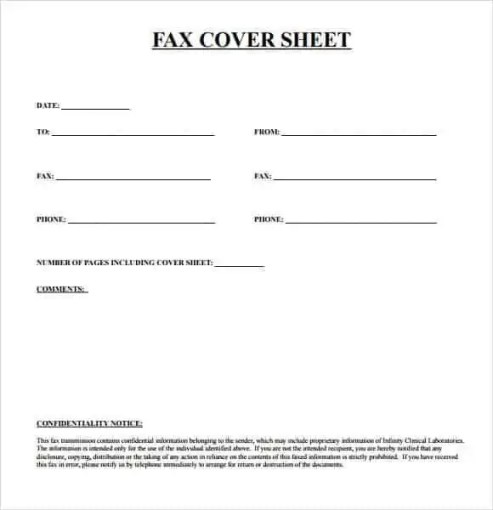 fax cover sheet 10.