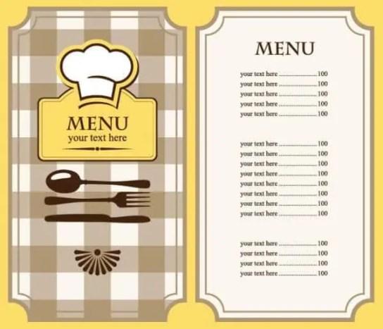 menu template 4.