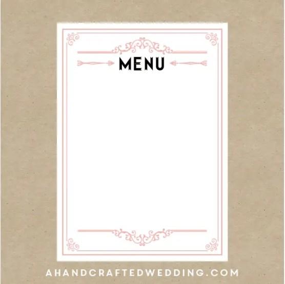 menu template 6.
