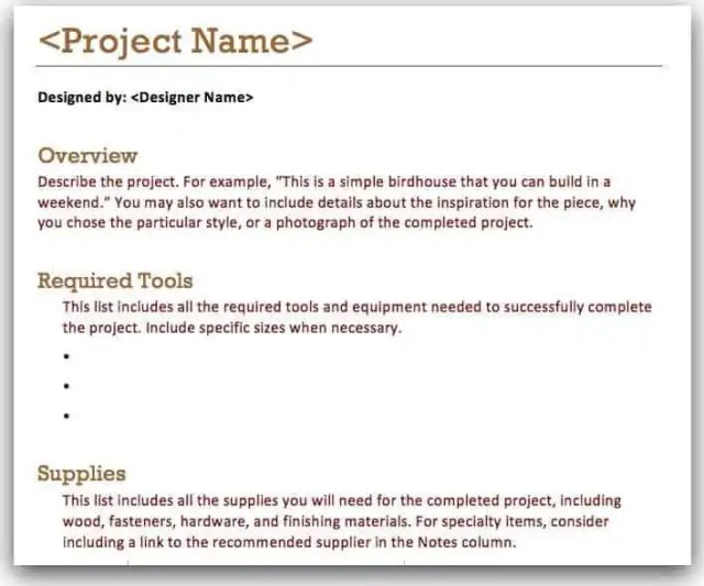 project overview template 5.
