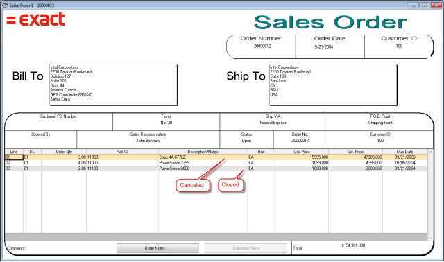sales order template 7.