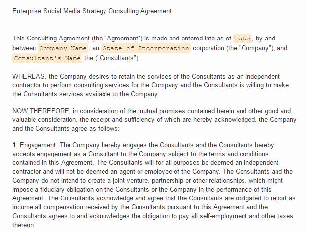social media contract 3.