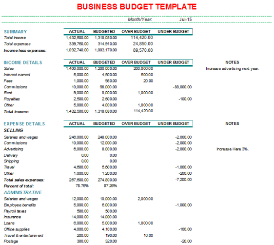 business budget template 1.