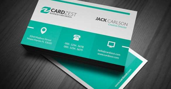 business card template 7.
