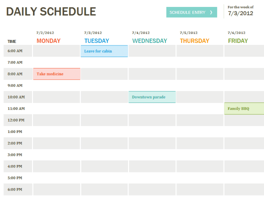 daily planner template 2.