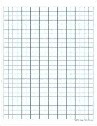 Graph Paper Template Word 8 ...